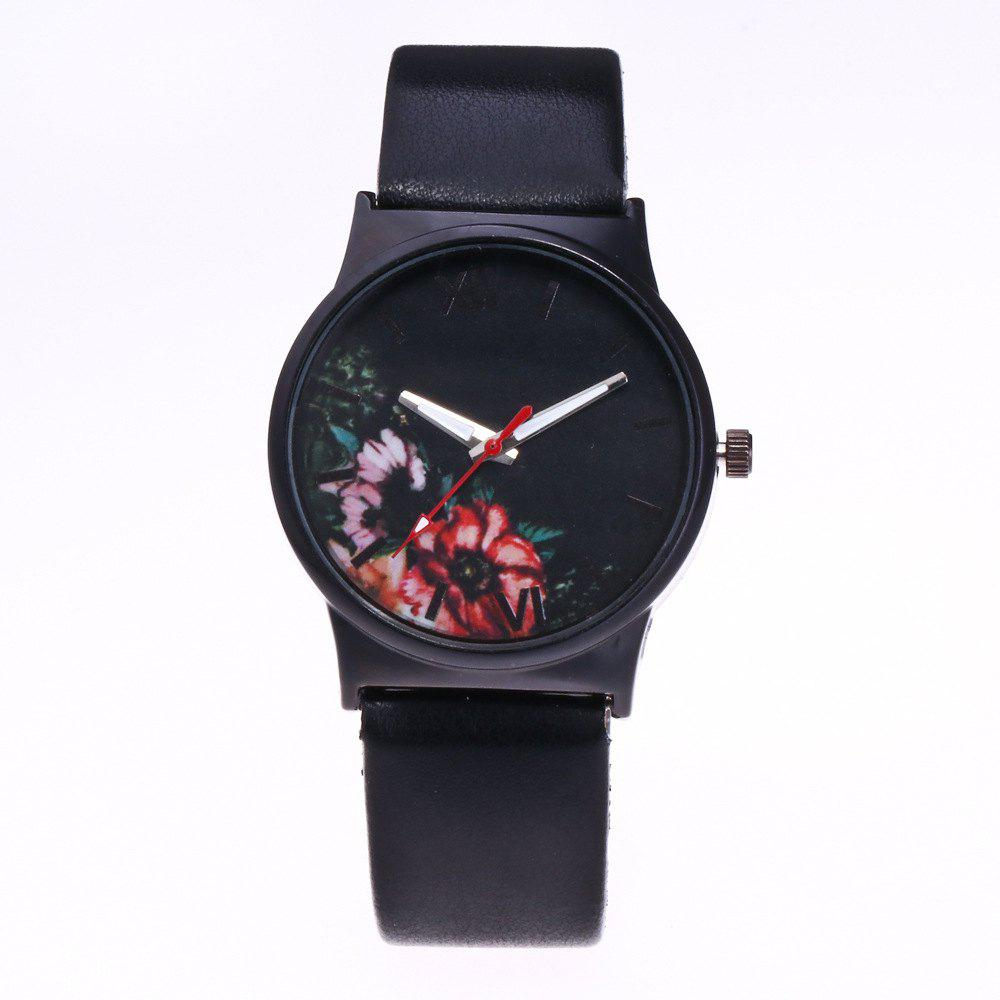 Discount Fashion Women Flower Quartz Watch