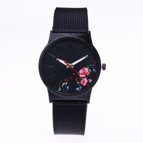 Best Trendy Simple Silicone Band Women Watch