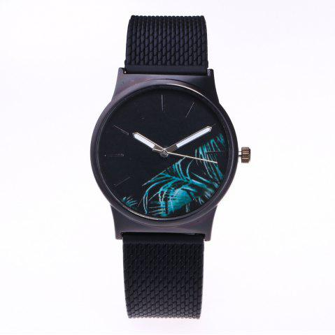 Trendy Trendy Simple Silicone Band Women Watch