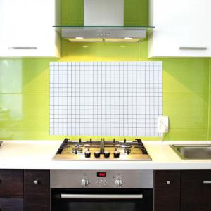 DIHE Kitchen Oil Proof Wall Stickers Beautiful High Temperature Resistance -