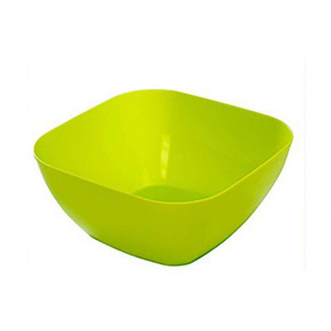 Store DIHE Plastic Square Snack Bowls Durable Various Styles