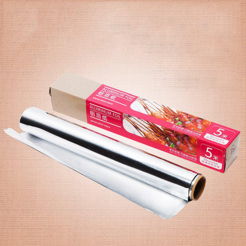 Online DIHE 5Meters Baking Aluminum Foil Relaxed Not Sticky High Temperature Resistant