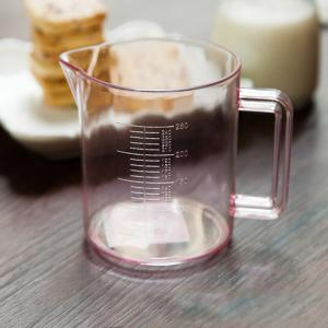 DIHE 250ml Scale Transparent Measuring Cup Easy to Use -