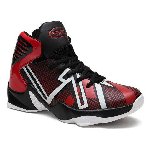 New Men's New Large Size Luminous Basketball Shoes