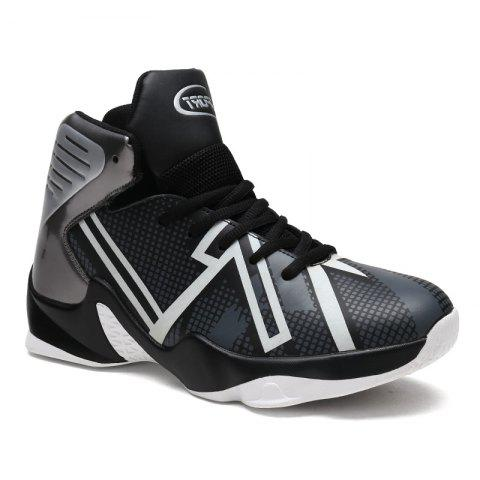 Shop Men's New Large Size Luminous Basketball Shoes