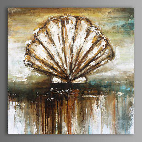Shops XiangYunChengFeng  Abstract Conch Shell Home Decor Canvas Oil Painting