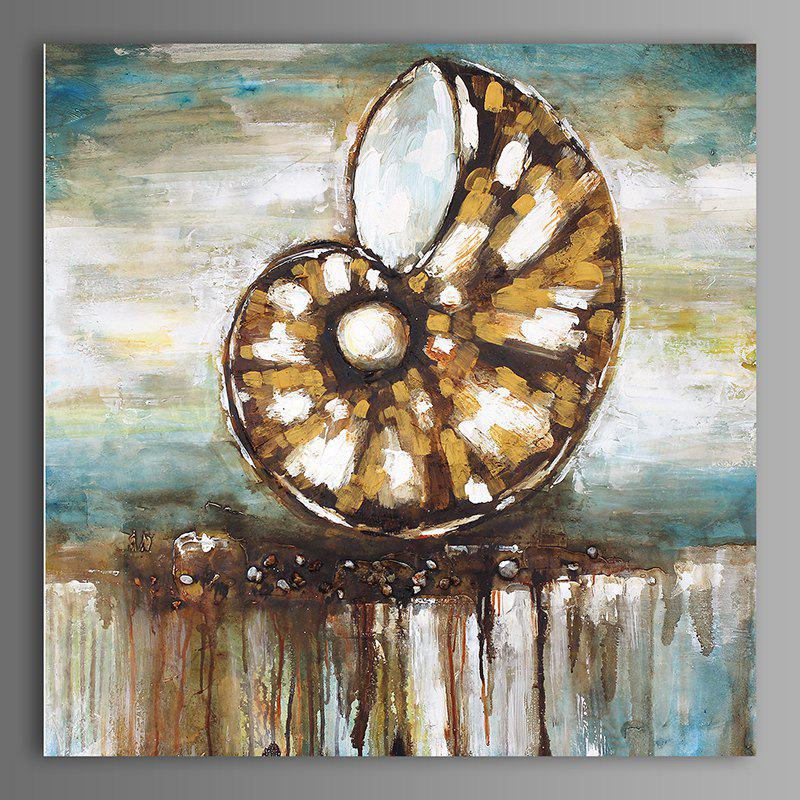 Discount XiangYunChengFeng  Abstract Conch Shell Home Decor Canvas Oil Painting