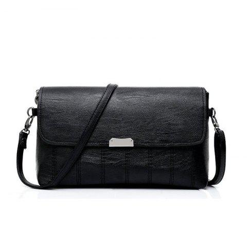 Chic New Style Simple Color Oblique Cross Bag