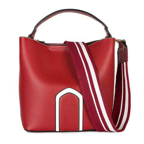 Chic Women's Handbag Solid Color Roomy Bag