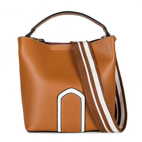 Fashion Women's Handbag Solid Color Roomy Bag