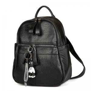 Women's Backpack Solid Color Brief Style Stylish Bag -