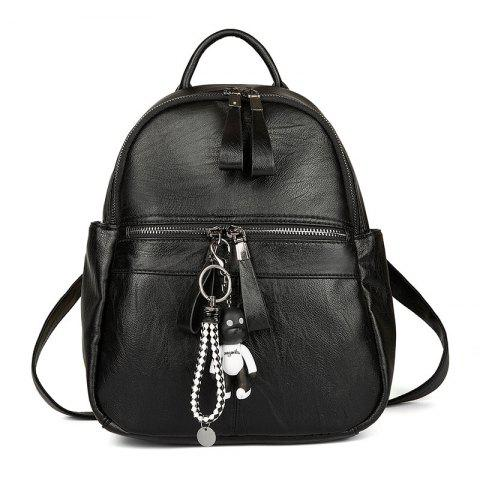 Outfits Women's Backpack Solid Color Brief Style Stylish Bag