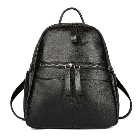 Store Women's Backpack Solid Color Brief Design Versatile Top Fashion All-match Bag