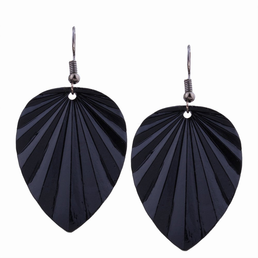 Affordable Fashion Design Leaf-shaped Drop Earrings Charm Jewelry Graceful Accessories