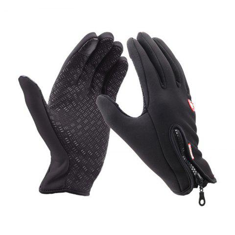 Online Unisex Cold Weather Fleece Windproof Winter Touch Screen Gloves for Smart Phone