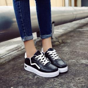 Student Flat Strappy Low Recreational All-match Sports Shoes -