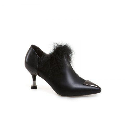 Buy Women'S Heel Plush Shoes