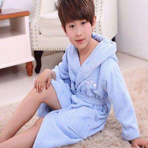 Outfits Cotton Towelling Bathrobe Children Cartoon Hooded Bathrobe