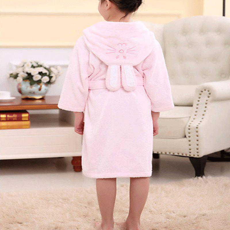 Latest Cotton Towelling Bathrobe Children Cartoon Hooded Bathrobe