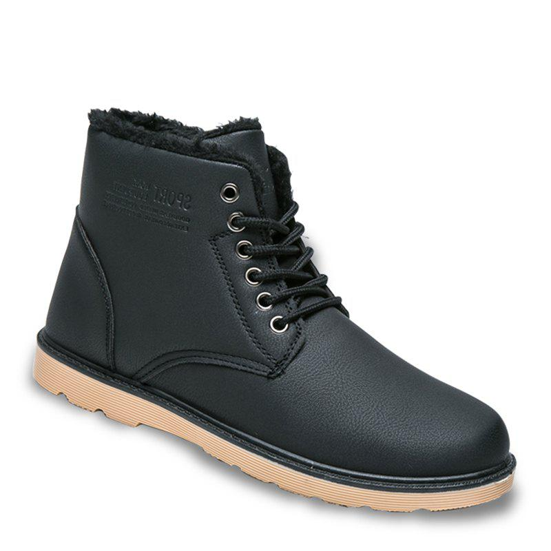 Fancy Men's Soft Toe Rubber Sole Work Boots