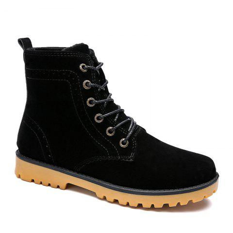 New Winter Warm Casual Leather Plush Fur Fashion Boots