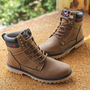 Men's Fashion Casual Rubber Snow Boots -