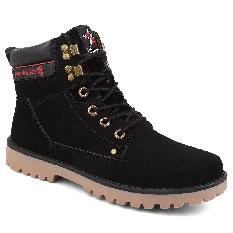 Trendy Men's Fashion Casual Rubber Snow Boots