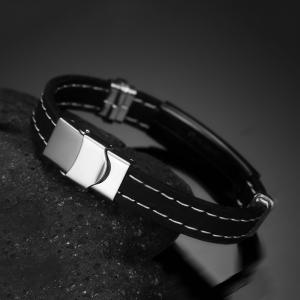 Popular Accessories Gay Bracelets Simple Silicone Jewelry -