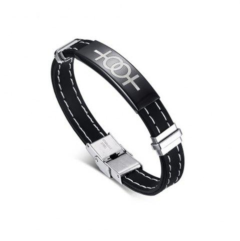Discount Popular Accessories Gay Bracelets Simple Silicone Jewelry