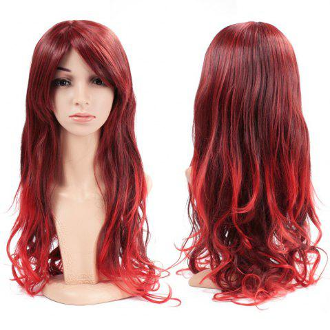 Latest Women Full Hair Wig Long Wavy Curly Wave Heat Resistant for Cosplay Party Costume Halloween Daily 26 inch