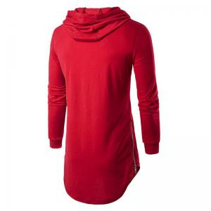 Men's Sports Casual Hoodie Solid  Long Sleeve -