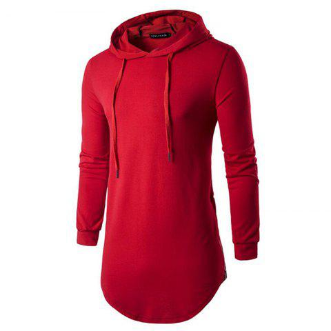 Discount Men's Sports Casual Hoodie Solid  Long Sleeve