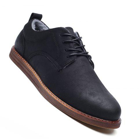 Online Men Casual New Trend for Fashion Outdoor Suede Rubber Flat Leather Shoes