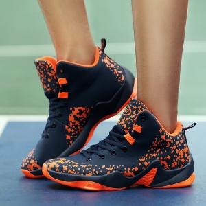 Men Breathable Basketball Shoes Jogging Athletic Walking Sneakers -