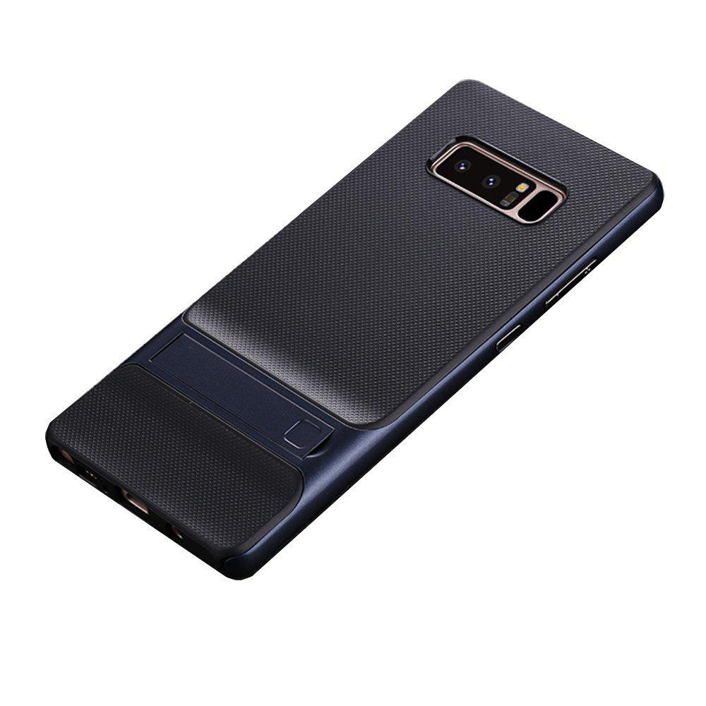 Discount Shockproof Stand Back Cover Solid Color Hard PC + TPU Case for Samsung Galaxy Note 8