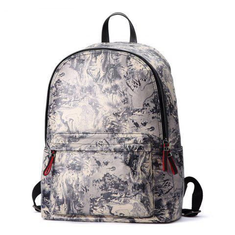 Outfit HAUT TON Design Printing Canvas Water Resistant Backpack