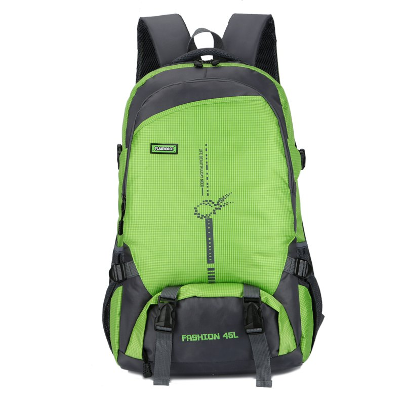 Outfit FLAMEHORSE Outdoor  Mountaineer Bag 45L Large Capacity Backpack