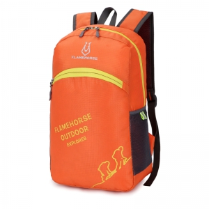 FLAMEHORSE Outdoor Foldbag Luminous Ultra Light Portable Waterproof Backpack -