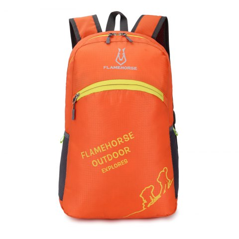 Online FLAMEHORSE Outdoor Foldbag Luminous Ultra Light Portable Waterproof Backpack