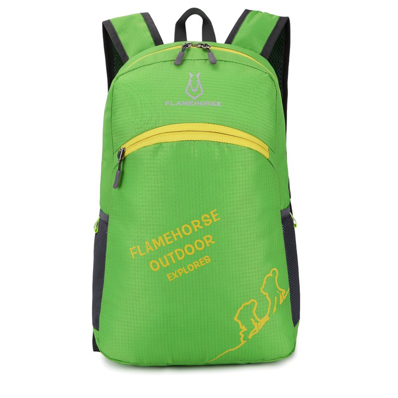 Best FLAMEHORSE Outdoor Foldbag Luminous Ultra Light Portable Waterproof Backpack