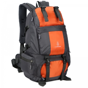 FLAMEHORSE Outdoor Mountaineer Bag 50L Large Capacity Nylon Waterproof Travel Backpack -