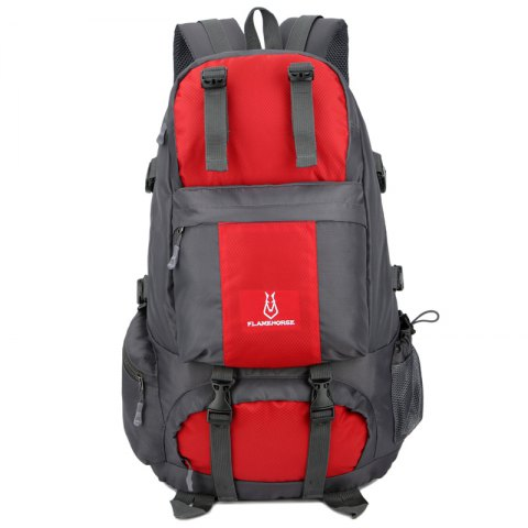 Shops FLAMEHORSE Outdoor Mountaineer Bag 50L Large Capacity Nylon Waterproof Travel Backpack