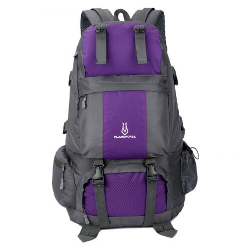 Cheap FLAMEHORSE Outdoor Mountaineer Bag 50L Large Capacity Nylon Waterproof Travel Backpack