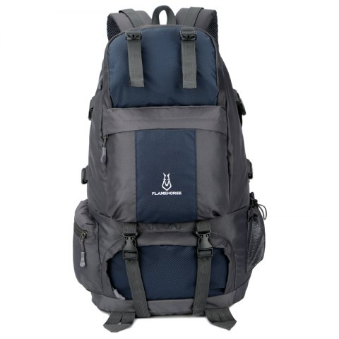 Buy FLAMEHORSE Outdoor Mountaineer Bag 50L Large Capacity Nylon Waterproof Travel Backpack