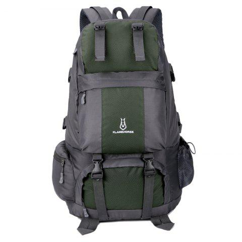Affordable FLAMEHORSE Outdoor Mountaineer Bag 50L Large Capacity Nylon Waterproof Travel Backpack