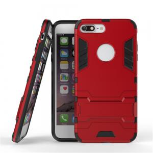 Case for iPhone 7 Plus Shockproof Tank Armour Hybrid Stents Shield -