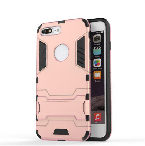 Fashion Case for iPhone 7 Plus Shockproof Tank Armour Hybrid Stents Shield