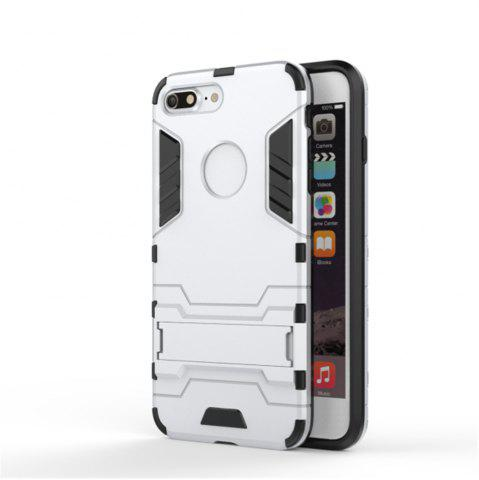 Cheap Case for iPhone 7 Plus Shockproof Tank Armour Hybrid Stents Shield