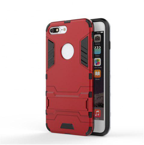 Shop Case for iPhone 7 Plus Shockproof Tank Armour Hybrid Stents Shield