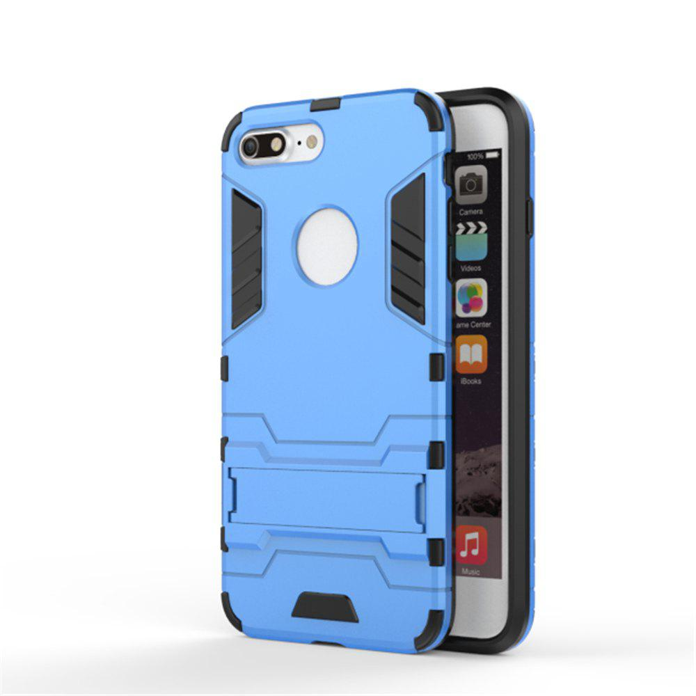 Trendy Case for iPhone 7 Plus Shockproof Tank Armour Hybrid Stents Shield